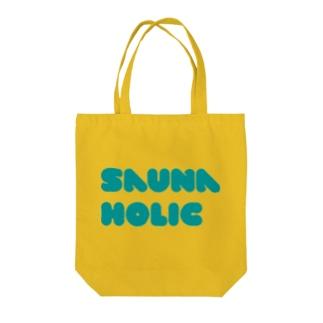 SaunaHolicサウナホリック Tote bags
