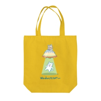 abduction Tote bags