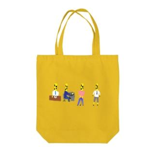 キリン部長 Tote bags