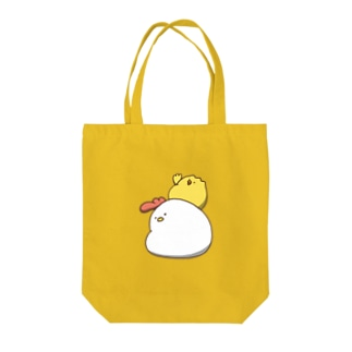 背負い鳥 Tote bags