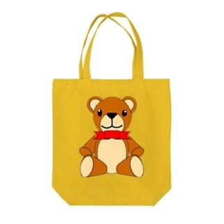 テディベア Tote bags