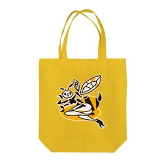 蜂ガール Tote bags