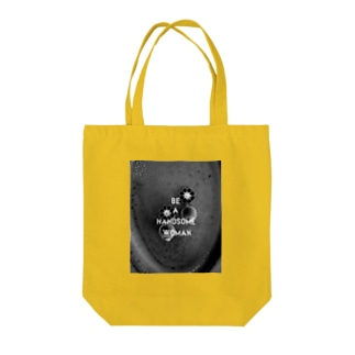 handsome woman Tote bags