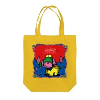 ブチギレわんちゃんトート Tote bags