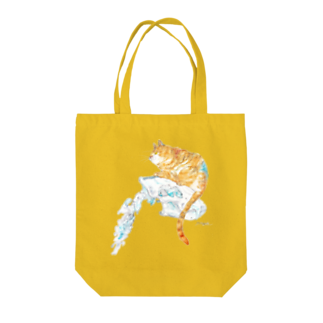 made blueのTiger Tote bags