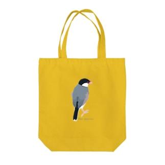 たそがれ桜文鳥 Tote Bag