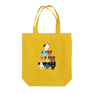 カレ ミニョン pyramid Tote bags