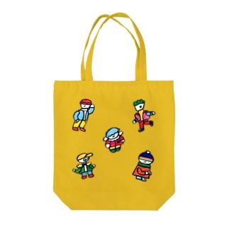 おしゃれくんズ Tote bags