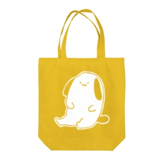 くしゅん01(白) Tote bags