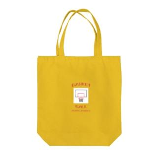 バスケ好きのためのグッズ Tote bags