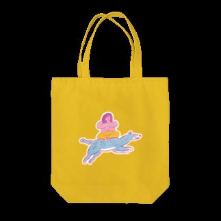 【 田 】の行け!乗れる獣! Tote bags