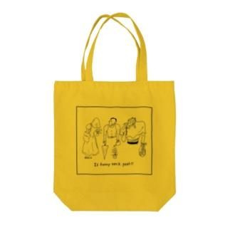 クビガグニィィィッ Tote bags