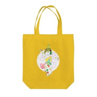 4月 タイのアイツ Tote bags