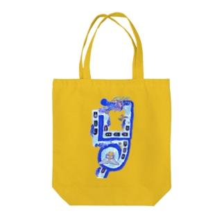 doragon Tote bags