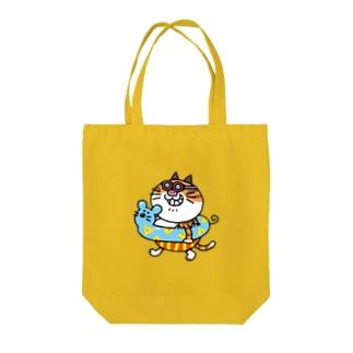 ブッチャーの夏休み Tote bags