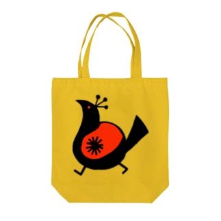 えっへん鳥 Tote bags