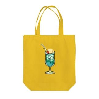 うわわさんinクリームソーダ Tote bags