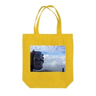 天空の狭間でカンパイ! Tote bags