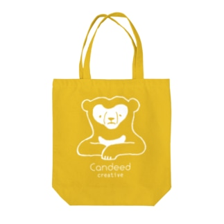 Candeed Creativeのマレーグマ(ロゴあり2) Tote bags