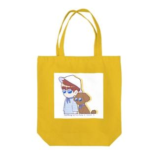 ユンとホーリー Tote bags