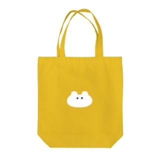 そばかすくまちゃん(顔枠なしバージョン) Tote bags