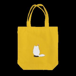 木ノ下商店の猫とちょうちょ Tote bags
