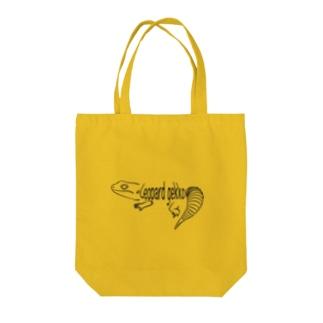 レオパードゲッコーロゴグッズ Tote bags