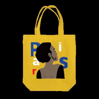 TEALのバルコニーのパリジェンヌ Tote bags