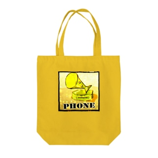 PHONE(メガホンギョ) Tote bags
