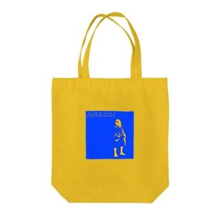 AMAGOI BOY Tote bags