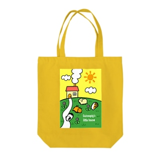 Guineapig's little house Tote bags