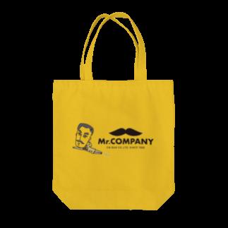Mr.shopの翔んでるミスターフィギュア Tote bags