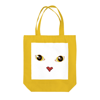 キャッツハンド:suzuriショップのしろしろ Tote bags