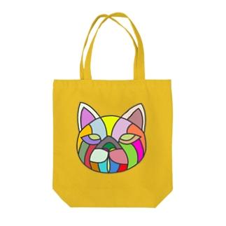 ネコの顔面 Tote bags