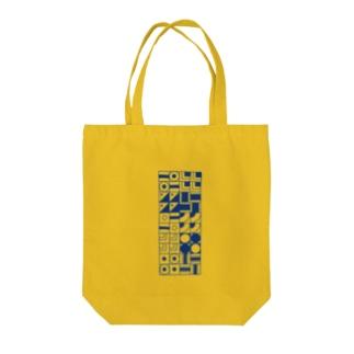四角 パターン Tote bags