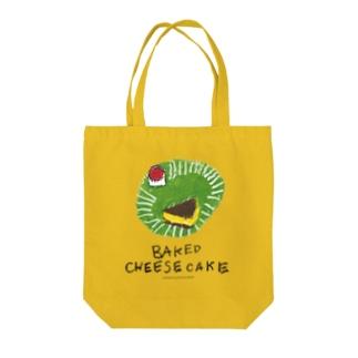チーズケーキ のらしおん Tote bags
