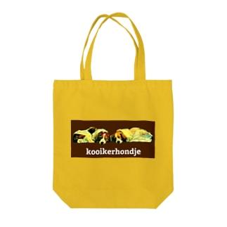 sleeping kooikers Tote bags