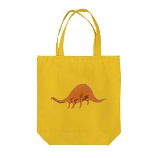 竹下キノの店のブロントザウルスは20m  Tote bags