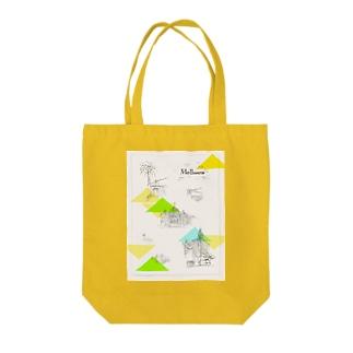 メルボルン Tote bags
