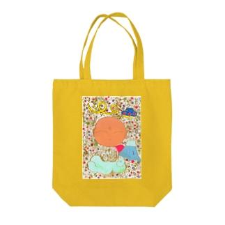 櫻田宗久のジゾカワイイ ジゾー 富士山とUFO Tote bags
