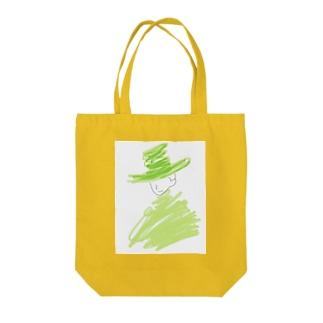 風に Tote bags