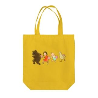 いつも絵本と一緒 Tote bags
