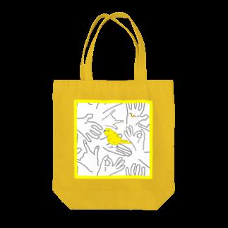 KOKaKの手のりインコのモテ期 Tote bags