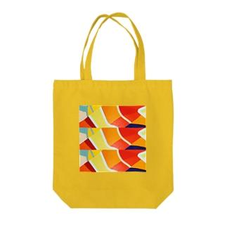 KOI-NOBORI OF THE SUN Tote bags