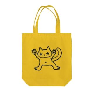 自由気ままに生きる猫 Tote bags