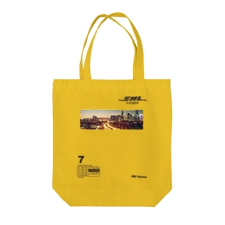 SML Express中侍道敦豪 Tote bags