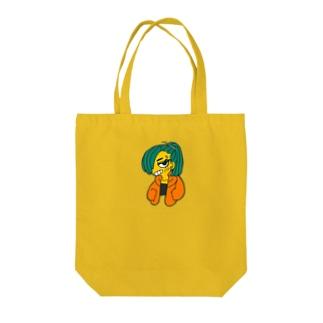 オラつきちゃん Tote bags