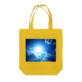 龍神☆ブルー Tote bags