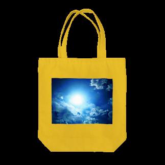 錆猫の館の龍神☆ブルー Tote bags