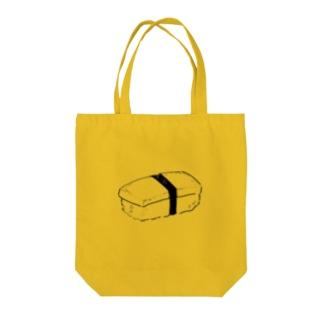 お寿司の玉子 Tote bags
